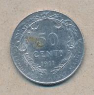 België/Belgique 50 Ct Albert1 1911 Vl Morin 301 (1378197) - 06. 50 Centimes