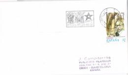 34398. Carta ALCOY (Alicante) 1997. Belen De TIRISITI. Montaje Teatral Con Titeres - 1931-Hoy: 2ª República - ... Juan Carlos I