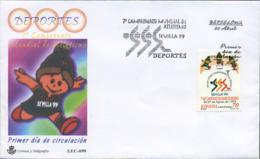 Ref. 250434 * NEW *  - SPAIN . 1999. 7th SEVILLA WORLD ATHLETICS CHAMPIONSHIPS . 7 CAMPEONATO DEL MUNDO DE ATLETISMO EN - 1931-Oggi: 2. Rep. - ... Juan Carlos I