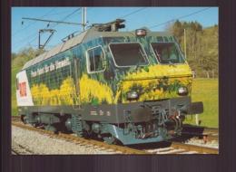 LOCOMOTIVE ELECTRIQUE RE 446445 AVEC PEINTURE PUBLICITAIRE - Treni