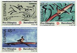 Ref. 85650 * NEW *  - SPAIN . 1991. GAMES OF THE XXV OLYMPIAD. BARCELONA 1992. 25 JUEGOS OLIMPICOS VERANO BARCELONA 1992 - 1931-Hoy: 2ª República - ... Juan Carlos I