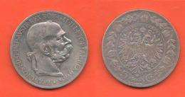 Austria 5 Corone 1900 Österreich Franz Joseph I° 5 Kronen - Austria