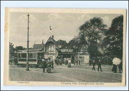 XX006685/ Düsseldorf Zoologischer Garten Straßenbahn 1923 - Allemagne