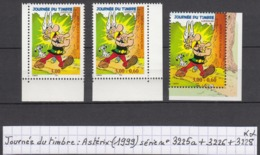 France Journée Du Timbre: Astérix (1999) Y/T Série N° 3225a  + 3226 + 3228 Neufs ** - Usati
