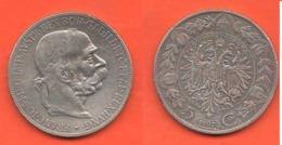 Austria 5 Corone 1907 Österreich Franz Joseph I° 5 Kronen - Austria