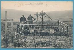 Guerre 1914-1915 - Les Vosges - SAINT-MICHEL-SUR-MEURTHE - Les Tombes De Nos Soldats - Otros Municipios