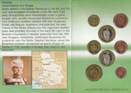 EURO COIN COLLECTION . SERIE COMPLETE PROTOTYPE DE SERBIE - Specimen