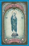 Holycard    O.L.V. V. Drongen   1913   Klosterzusters - Images Religieuses