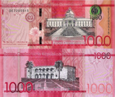 DOMINICAN REPUBLIC 1000 Pesos, 2016, P193, Redesigned And New Signature, UNC - Dominicana