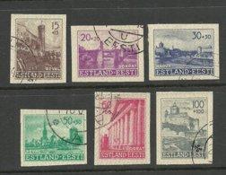 Estonia Estland 1941 German Occupation Michel 4 - 9 U O - Estonia