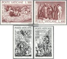 Vatikanstadt 678-679,701-702 (complete Issue) Unmounted Mint / Never Hinged 1976 Tizian, Gregor - Vatican