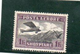 ALBANIE 1925 * PAPIER AU VERSO - Albanie