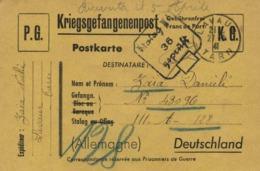 KRIEGSGEFANGENEN POST  P G Stalag III A 36 Gepruft Vers Zaia Danieli N° 430 96  De Lavaur Tarn - Militaria