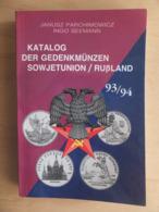 Germany Deutschland Katalog Der Gedenkmünzen Sowjetunion / Russland 93/94 Coinbook - Books & Software