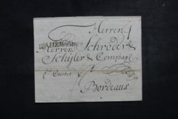 "ALLEMAGNE - Marque Postale "" Allemagne "" Sur Lettre De Nürnberg Pour La France - 45757 - [1] ...-1849 Voorlopers"
