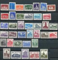 Roumanie ** N° 2757 à 2793 - Série Courante. Constructions - 1948-.... Republieken