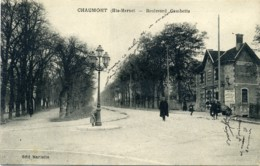 Chaumont (Hte-Marne). Boulevard Gambetta. - Chaumont