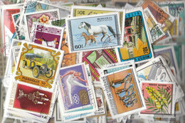 Mongolia Stamps-800 Different Stamps - Mongolia