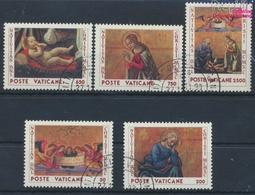 Vatikanstadt 1018-1022 (kompl.Ausgabe) Gestempelt 1990 Weihnachten (9355284 - Used Stamps