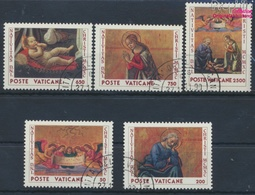 Vatikanstadt 1018-1022 (kompl.Ausgabe) Gestempelt 1990 Weihnachten (9355284 - Vaticano (Ciudad Del)