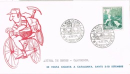 34401. Carta BARCELONA 1975. 55 Volta Ciclista Catalunya. Etapa ARTESA De SEGRE A CAMPRODON - 1931-Hoy: 2ª República - ... Juan Carlos I