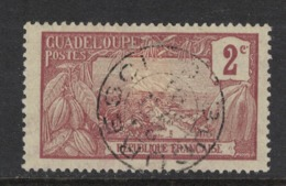 Guadeloupe - Yvert 56 Oblitéré BUCURESCI - Scott#55 - Used Stamps