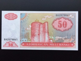 AZERBAIDJAN P17B 50 MANAT 1999 UNC - Azerbaigian