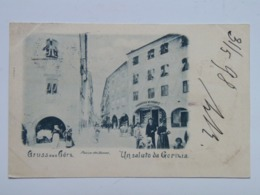 Gorizia M44 Gorz Gorica Gruss 1898 Piazza Del Duomo - Otras Ciudades