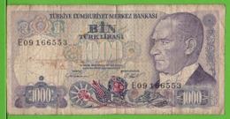 TURQUIE / 1000 TÜRK LIRASI / 1970 - Turkije