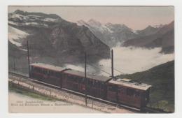 AB778 - SUISSE - Jungfraubahn - Blick Auf Schwarzen Monch U Gspaltenhorn - Passage Du Train - BE Berne