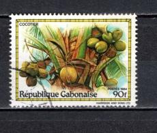GABON  N° 559   OBLITERE  COTE 0.50€    ARBRE FRUIT - Gabun (1960-...)
