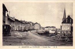 54 - DOMEVRE -sur- VEZOUZE - Grande-Rue - - Domevre En Haye