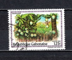 GABON  N° 561   OBLITERE  COTE 0.80€    ARBRE FRUIT - Gabun (1960-...)