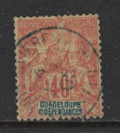 Guadeloupe - Yvert 36 Oblitéré TROIS-RIVIERES - Scott#40 - Used Stamps