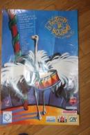 Affiche - Festival Du Printemps De BOURGES De 1995 - Affiche Autruche - Stagioni & Feste