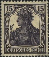 German Empire 101 (complete Issue) Unmounted Mint / Never Hinged 1917 Germania WZ 1 - Deutschland