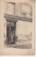 FOUGEROLLES DU PLESSIS - CARTE PHOTO - Magasin Du Brocanteur CHASSAING  PRIX FIXE - Autres Communes