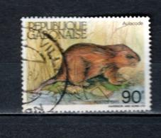 GABON  N° 586  OBLITERE  COTE 0.50€   ANIMAUX - Gabun (1960-...)
