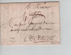 PR7589/ Précurseur LAC 1681 > Anvers - 1621-1713 (Spanish Netherlands)