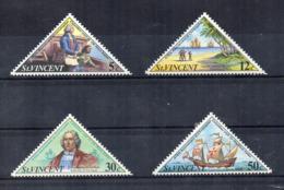 Gran Bretagna - (Vecchie Colonie E Protettorati - ST. VINCENT) - 1973 - 4 Valori - Nuovi - Linguellati * - (FDC17990) - St.Vincent (...-1979)