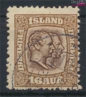 Island 55 Gestempelt 1907 Christian IX. Und Frederik VIII. (9350140 - Islandia