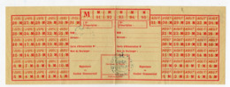 (guerre 39-45) Restrictions Rationnement  Carte De PAIN Juillet Et Aout  (PPP20914) - Vieux Papiers