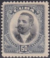 Cuba, Scott #238, Mint No Gum, Maj Gen Antionio Maceo, Issued 1907 - Kuba