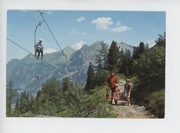 Suisse : Kandersteg - Sessellift Stock-Sunnbühl 1940 M - Aermighorn Und Birre (cp Vierge) - BE Bern
