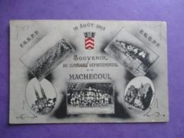 CPA 44 MACHECOUL SOUVENIR DU CONCOURS DEPARTEMENTAL 10 AOUT 1913 MULTI VUES - Machecoul