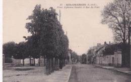 91 Ris Orangis, Place Alphonse Daudet Et Rue Du Pont - Ris Orangis
