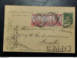 Entier Postaux, Express 1912 - Ganzsachen