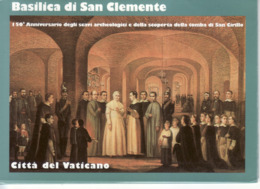 "2007 - CARTOLINE POSTALI "" BASILICA DI SAN CLEMENTE "" NUOVE VEDI++++ - Interi Postali"