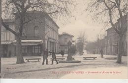 SAINT SULPICE LA POINTE - Promenade Et Avenue De La Gare    PRIX FIXE - France