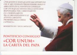 """2010 - CARTOLINE POSTALI """" LA CARITA DEL PAPA """" NUOVE VEDI++++ - Interi Postali"""
